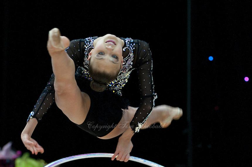 "February 14, 2016 - Tartu, Estonia - JANIKA VARTIAAN of Estonia performs in Event Finals at ""Miss Valentine"" 2016 international tournament."