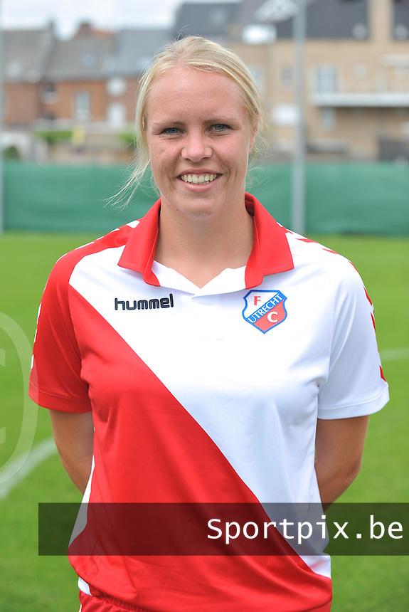 FC Utrecht Dames : Hélène Heemskerk .foto DAVID CATRY / Vrouwenteam.be