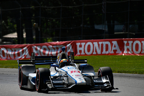 Verizon IndyCar Series<br /> Honda Indy 200 at Mid-Ohio<br /> Mid-Ohio Sports Car Course, Lexington, OH USA<br /> Sunday 30 July 2017<br /> Esteban Gutierrez, Dale Coyne Racing Honda<br /> World Copyright: Scott R LePage<br /> LAT Images<br /> ref: Digital Image lepage-170730-to-10392