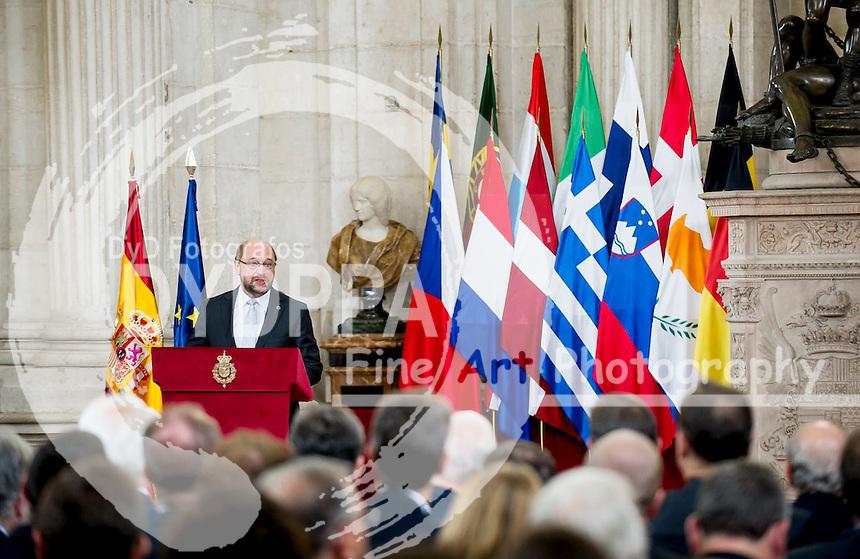 European comision president Martin Schulz