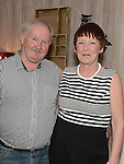 Patsy Harding celebrating his 60th birthday in the Fishermans with his wife Mary. Photo:Colin Bell/pressphotos.ie