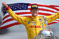 2014 Indy 500 Winner's Portraits