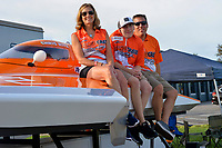 "Vallery Anne Ritz, Connor Harnack and Chris Ritz, Y-2 ""Orange Crate""                (1 Litre MOD hydroplane(s)"