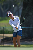 Danielle Kang (USA) chips on to 7 during round 1 of the 2019 US Women's Open, Charleston Country Club, Charleston, South Carolina,  USA. 5/30/2019.<br /> Picture: Golffile | Ken Murray<br /> <br /> All photo usage must carry mandatory copyright credit (© Golffile | Ken Murray)