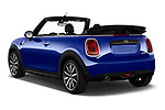 Car pictures of rear three quarter view of a 2018 Mini Mini Chilli 2 Door Convertible angular rear