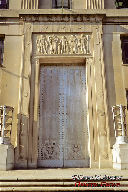 Doorway Of Government Building