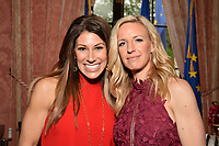 New York City, NY - MAY 23: (L-R) Tina Cervasio, Fox Sports Anchor and Aly Wagner, Lead WWC Match Analyst attend the Fox Sports FIFA Women's World Cup Send-off at the Consulate General of France in New York City. (Photo by Anthony Behar/Fox Sports/PictureGroup)
