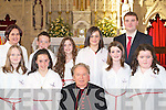 Douglas NS pupils who were Confirmed by Bishop Bill Murphy in Killorglin on Wednesday   Copyright Kerry's Eye 2008