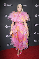"07 February 2019 - Westwood, California - Rita Ora. Spotify ""Best New Artist 2019"" Event held at Hammer Museum. <br /> CAP/ADM/PMA<br /> ©PMA/ADM/Capital Pictures"