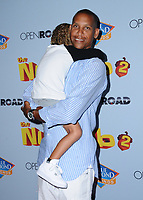 "05 August  2017 - Los Angeles, California - Reggie Miller.  World premiere of ""Nut Job 2: Nutty by Nature""  held at Regal Cinema at L.A. Live in Los Angeles. Photo Credit: Birdie Thompson/AdMedia"
