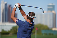 Joost Luiten (NED) on the driving range during the preview ahead of the Omega Dubai Desert Classic, Emirates Golf Club, Dubai,  United Arab Emirates. 20/01/2020<br /> Picture: Golffile | Thos Caffrey<br /> <br /> <br /> All photo usage must carry mandatory copyright credit (© Golffile | Thos Caffrey)