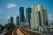 A view of Kuala Lumpur skyline in Kuala Lumpur, Malaysia. Photo: Sanjit Das/Panos