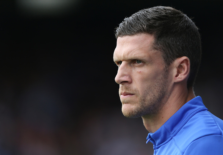Huddersfield Town caretaker-manager Mark Hudson <br /> <br /> Photographer Rob Newell/CameraSport<br /> <br /> The EFL Sky Bet Championship - Luton Town v Huddersfield Town - Saturday 31 August 2019 - Kenilworth Stadium - Luton<br /> <br /> World Copyright © 2019 CameraSport. All rights reserved. 43 Linden Ave. Countesthorpe. Leicester. England. LE8 5PG - Tel: +44 (0) 116 277 4147 - admin@camerasport.com - www.camerasport.com