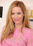 SANTA MONICA, CA - JANUARY 10: Leslie Mann  arrives at the 18th Annual Critics' Choice Movie Awards at The Barker Hanger on January 10, 2013 in Santa Monica, California.