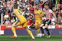 Chris Mepham of Brentford in action during Brentford vs Wigan Athletic, Sky Bet EFL Championship Football at Griffin Park on 15th September 2018