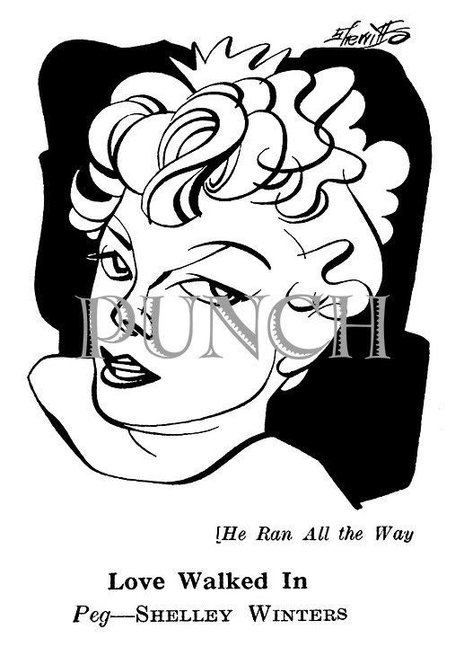 He Ran all the Way : Shelley Winters
