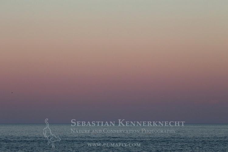 Atlantic Ocean at sunset, Gloucester, Cape Ann, eastern Massachusetts