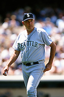 Seattle Mariners pitching coach Stan Williams during a game against the Los Angeles Dodgers at Dodger Stadium circa 1999 in Los Angeles, California. (Larry Goren/Four Seam Images)