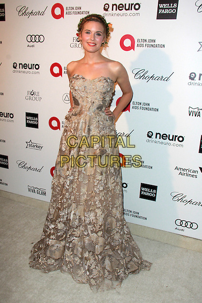 WEST HOLLYWOOD, CA - FEBRUARY 22: Heather Grace at the 2015 Elton John AIDS Foundation Oscar Party in West Hollywood, California on February 22, 2015. <br /> CAP/MPI/DC/DE<br /> &copy;DE/DC/MPI/Capital Pictures