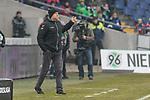 10.02.2018, HDI Arena, Hannover, GER, 1.FBL, Hannover 96 vs SC Freiburg<br /> <br /> im Bild<br /> Christian Streich (Trainer SC Freiburg) in , Coachingzone / an Seitenlinie, <br /> <br /> Foto &copy; nordphoto / Ewert