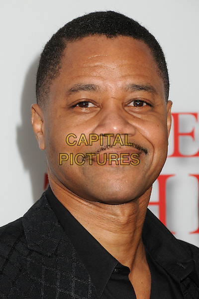 Cuba Gooding Jr.<br /> &quot;Lee Daniels' The Butler&quot; Los Angeles Premiere held at Regal Cinemas L.A. Live, Los Angeles, California, USA.<br /> August 12th, 2013<br /> headshot portrait black moustache mustache facial hair <br /> CAP/ADM/BP<br /> &copy;Byron Purvis/AdMedia/Capital Pictures