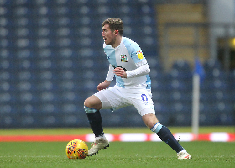 Blackburn Rovers Joe Rothwell <br /> <br /> Photographer Mick Walker/CameraSport<br /> <br /> The EFL Sky Bet Championship - Blackburn Rovers v Ipswich Town - Saturday 19 January 2019 - Ewood Park - Blackburn<br /> <br /> World Copyright &copy; 2019 CameraSport. All rights reserved. 43 Linden Ave. Countesthorpe. Leicester. England. LE8 5PG - Tel: +44 (0) 116 277 4147 - admin@camerasport.com - www.camerasport.com