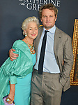 "a_Helen Mirren, Jason Clarke 009 attends the Los Angeles Premiere Of The New HBO Limited Series ""Catherine The Great"" at The Billy Wilder Theater at the Hammer Museum on October 17, 2019 in Los Angeles, California."
