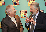 Alan Menken and Robert De Niro attends the Broadway Opening Night After Party for 'A Bronx Tale' at The Marriot Marquis Hotel on December 1, 2016 in New York City.