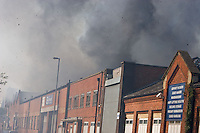 Warehouse Blaze Montgomery Street Sparkbrook Birmingham(May 2012)
