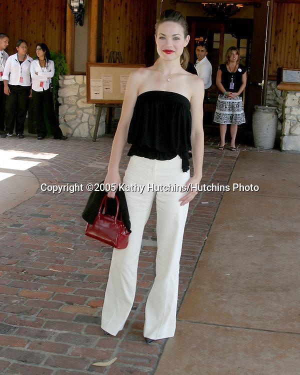 Rebecca Herbst.General Hospital Fan Club Luncheon.Sportsman's Lodge.Studio City, CA.July 16, 2005.©2005 Kathy Hutchins / Hutchins Photo