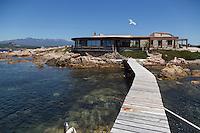Europe/France/2A/Corse du Sud/Bonifacio: Chez Marco, Tonnara Plage,
