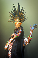 Grace Jones (aged 69) performs as main act at the Wilderness Festival in Oxfordshire, August 6, 2017. <br /> CAP/CAM<br /> &copy;Andre Camara/Capital Pictures