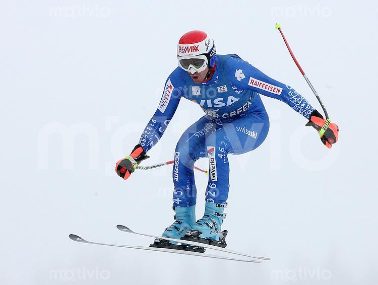Ski Alpin; Saison 2006/2007   Training Herren Tobias Gruenenfelder (SUI)