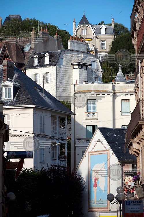 Houses in Trouville.