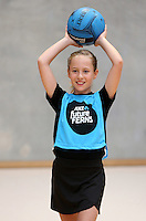 Kids Netball photo shoot 121115