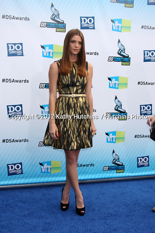 Los Angeles - AUG 19:  Ashley Green arrives at the 2012 Do Something Awards at Barker Hanger on August 19, 2012 in Santa Monica, CA