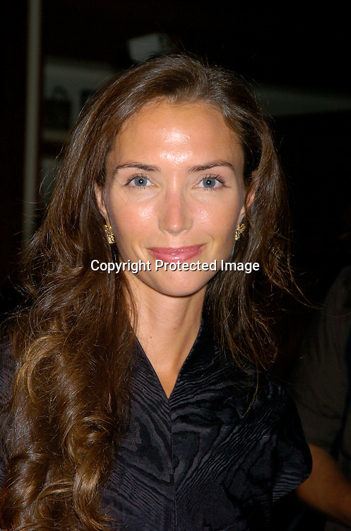 "Olivia Chantecaille ..at a cocktail party by Saks Fifth Avenue and 7th on Sixth to celebrate the Kick-off of OlympusFashionweek Spring 2005 Collections  and the Launch of ""Intents"" ..by Patrick McMullen on September 7, 2004. ..Photo by Robin Platzer, Twin Images"