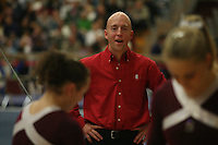 17 February 2006: Assistant coach Mike Lorentzen during Stanford's win over the University of Arizona at Burnham Pavilion in Stanford, CA.