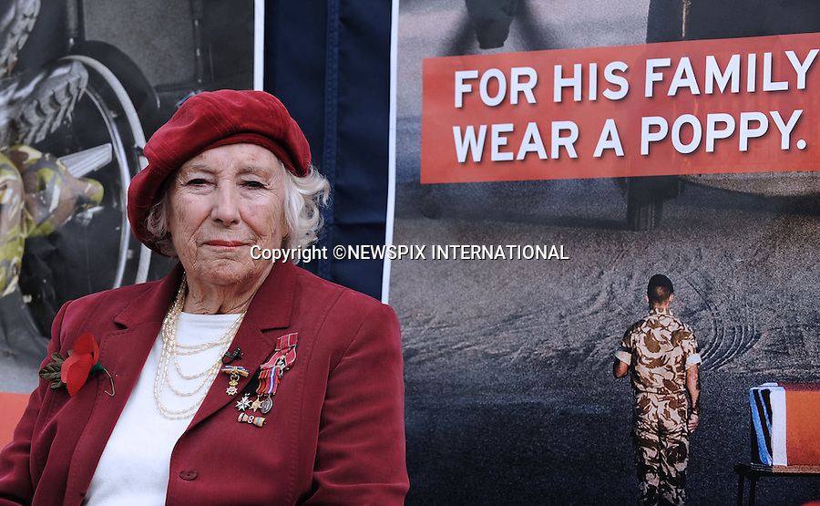 "HAYLEY WESTENRA AND DAME VERA LYNN LAUNCH 2009 POPPY APPEAL.Horse Guards Parade, London_22/10/09.Hayley Westenra,22, sang ""We'll Meet Again"" flanked by cavalrymen from The Blues and Royals, Household Cavalry Mounted Regiment, accompanied by the Band of the Irish Guards, during which she was joined on stage by Dame Vera Lynn,92..Photo Credit: ©I Houlding_Newspix International..**ALL FEES PAYABLE TO: ""NEWSPIX INTERNATIONAL""**..PHOTO CREDIT MANDATORY!!: NEWSPIX INTERNATIONAL..IMMEDIATE CONFIRMATION OF USAGE REQUIRED:.Newspix International, 31 Chinnery Hill, Bishop's Stortford, ENGLAND CM23 3PS.Tel:+441279 324672  ; Fax: +441279656877.Mobile:  0777568 1153.e-mail: info@newspixinternational.co.uk"