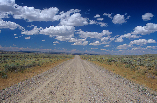 Gravel Road, Wyoming