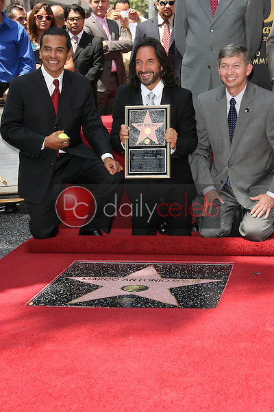 Marco Antonio Solis with Antonio Villaraigosa<br /> at the induction ceremony for Marco Antonio Solis into the Hollywood Walk David Edwards/DailyCeleb.com 818-249-4998of Fame, Hollywood, CA. 08-05-10