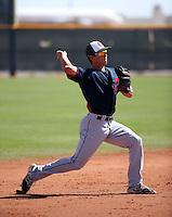 Sam Haggerty - Cleveland Indians 2016 spring training (Bill Mitchell)