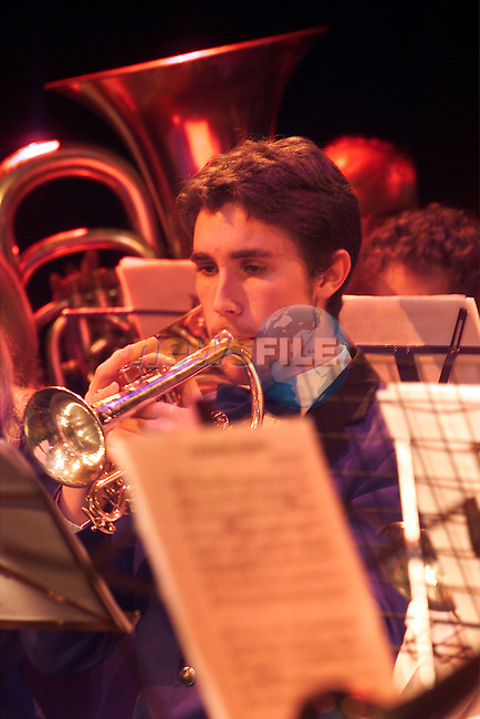 Drogheda Brass Band student of the year awards in the Drogheda arts centre..Picture: Arthur Carron/Newsfile