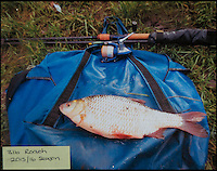 BNPS.co.uk (01202 558833)<br /> Pic: TomWren/BNPS<br /> <br /> 3lb Roach.<br /> <br /> A mystery fishing &quot;genius&quot; has sparked intrigue after pinning photos of his monster catches inside an angling club's riverbank lodge - in an enigma being dubbed 'Good Will Fishing'.<br /> <br /> The anonymous fisherman has systematically worked his way through a tough stretch of the River Avon and pulled in 19 once-in-a-lifetime catches in the last 12 months.<br /> <br /> And much like 1997 film Good Will Hunting, in which Matt Damon's genius character anonymously solves near-impossible mathematical equations while working as a janitor at a prestigious university, the angling Einstein showcases his brilliance in secret.