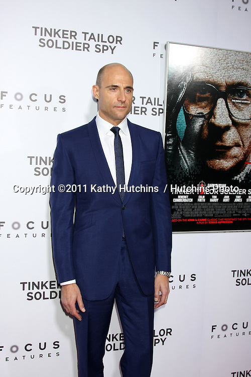 "LOS ANGELES - DEC 6:  Mark Strong arrives at the ""Tinker Tailor Soldier Spy"" LA Screening at ArcLight Cinemas on December 6, 2011 in Los Angeles, CA"