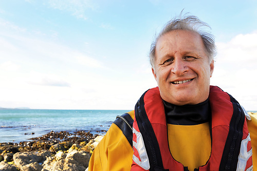 RNLI Wicklow mechanic Brendan Copeland