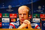 Spanje, Barcelona, 20 oktober 2014<br /> Seizoen 2014-2015<br /> Champions League<br /> Persconferentie met Davy Klaassen van Ajax