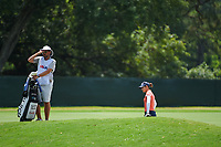 Azahara Munoz (ESP) looks over her approach shot on 4 during round 3 of the 2019 US Women's Open, Charleston Country Club, Charleston, South Carolina,  USA. 6/1/2019.<br /> Picture: Golffile | Ken Murray<br /> <br /> All photo usage must carry mandatory copyright credit (© Golffile | Ken Murray)
