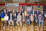 The Glenflesk 1970 Minor Junior championship winning team that was honoured in the Killarney Heights hotel on Friday night front row l-r: Donal McCarthy, Sean O'Sullivan, Sean O'Donoghue, John O'Donoghue, Michael O'Donoghue, Donal O'Donoghue, Patrick O'Donoghue, JJ O'Donovan, Donal O'Donovan, Kiera O'Donoghue for her father Noel. Back row: Brtendan Walsh, Flor O'Donoghue, Pat Healy, Neilie Moynihan, Jim Healy, Danny Doherty, Gerald O'Donoghue, Paudie Spillane, Sean O'Donoghue Jer O'Donoghue, Denis Healy and John Culloty......