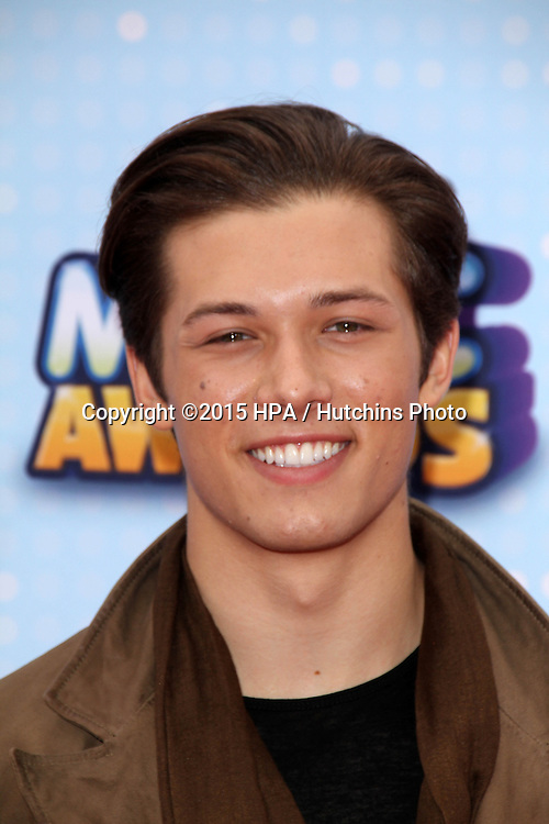 LOS ANGELES - FEB 25:  Leo Howard at the Radio DIsney Music Awards 2015 at the Nokia Theater on April 25, 2015 in Los Angeles, CA